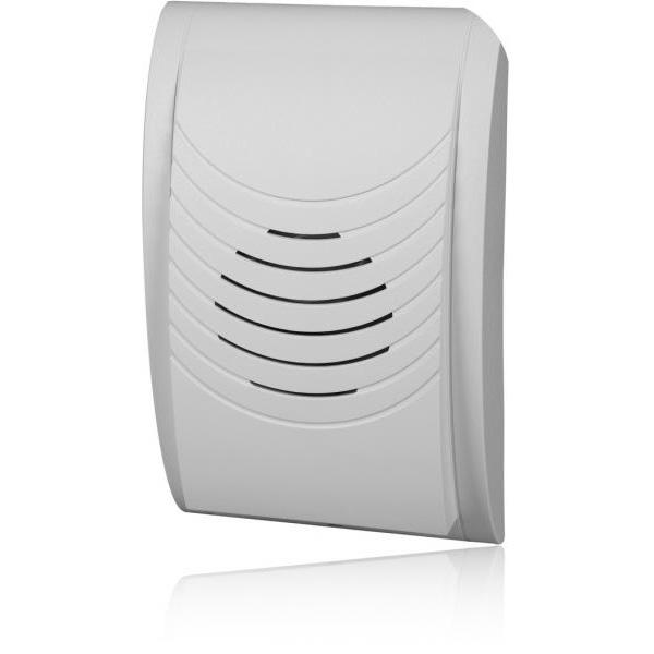 Електромеханичен звънец COMPACT, 230V, 80dB - бял
