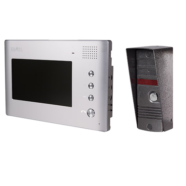 """Еднофамилна видео домофонна с-ма със 7""""LCD дисплей"""